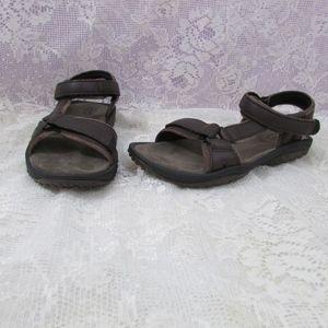 Teva Leather 6328 Strap Sport Sandals Womens 7